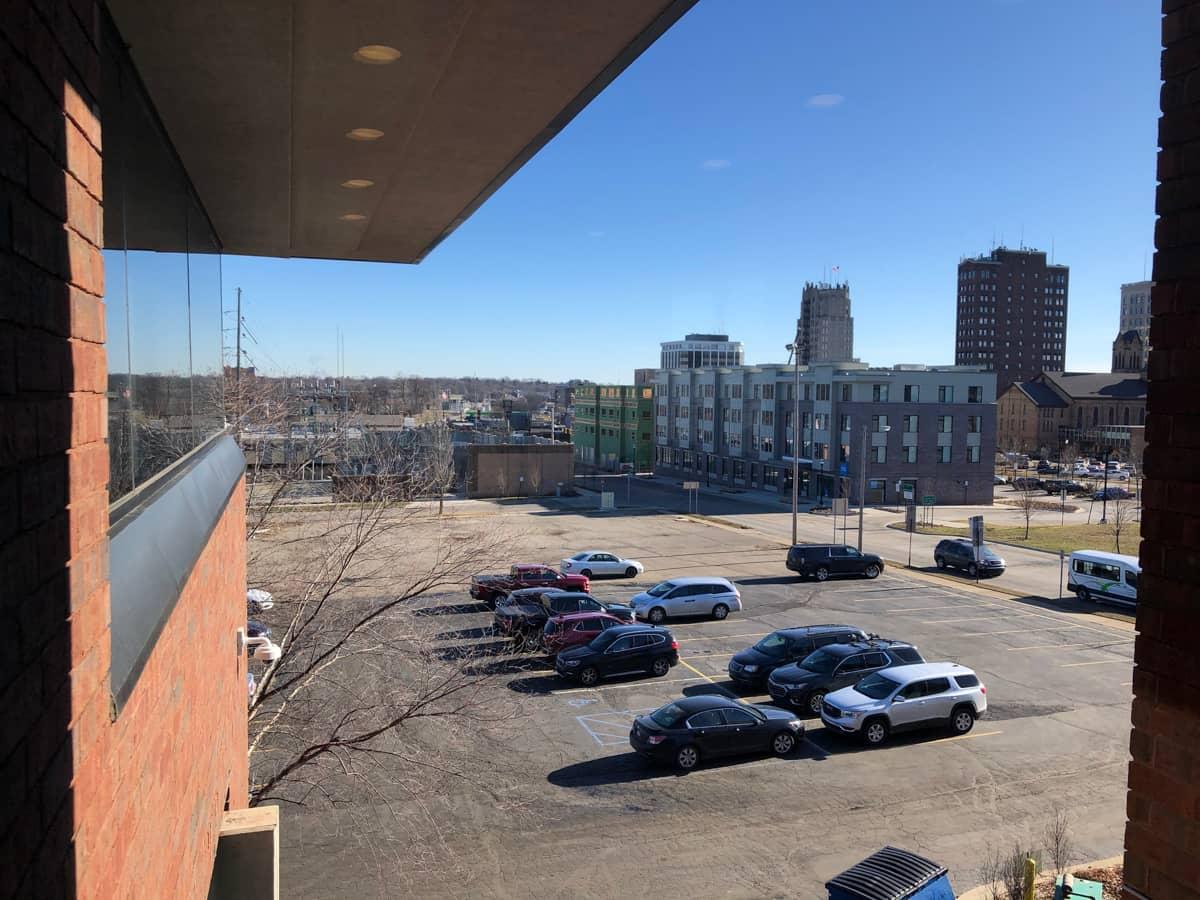 3rd floor view